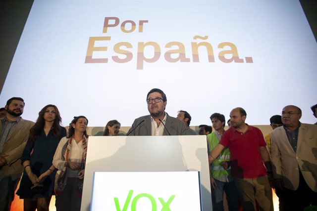 """28A.-AV.- Serrano (Vox) Asegura Que """"La Reconquista Que Empezó Por Andalucía Sigue Hoy"""" Y Pide """"Paciencia"""""""