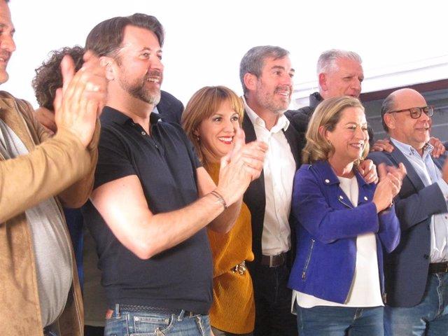 """28A.- Oramas Dice Que Es Un """"Día Especial"""" Para El Nacionalismo Porque Canarias Planta Su """"Bandera"""" En Madrid"""