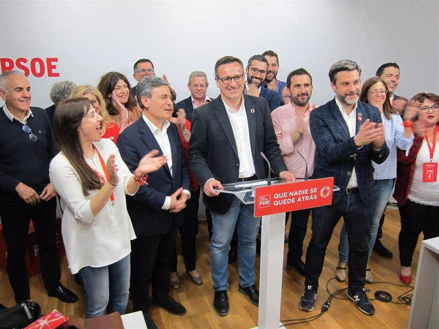 """28A.- Conesa (PSRM) Se Muestra """"Feliz"""" Por La Victoria Socialista En Unas Elecciones En La Región Tras 30 Años"""