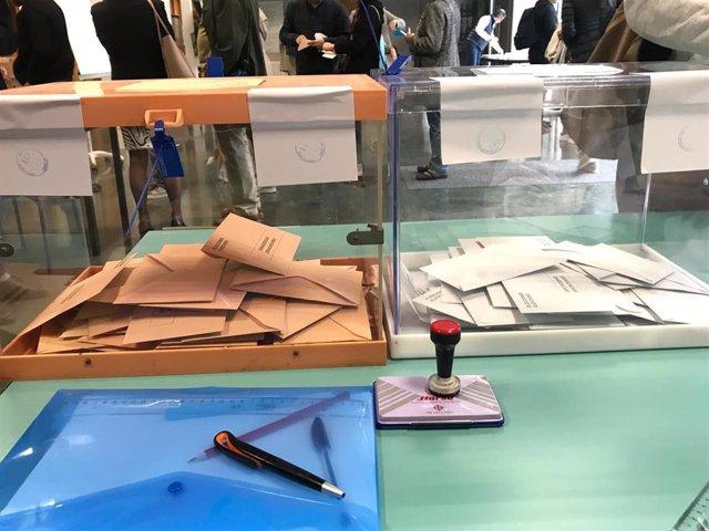 28A.- En Cataluña, con el 75,4% escrutado, ERC desbanca a En Comú Podem como primera fuerza y PSC sigue en segundo lugar