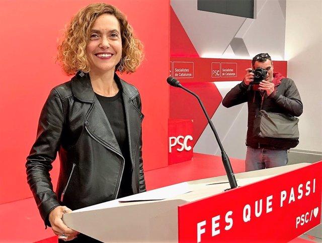 """28A.- Batet (PSC): """"Hem Guanyat Les Eleccions. Pedro Sánchez Tornar A Ser President"""""""