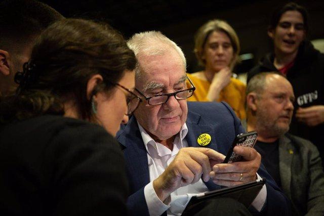 Ernest Maragall Celebra Los Resultados Electorales