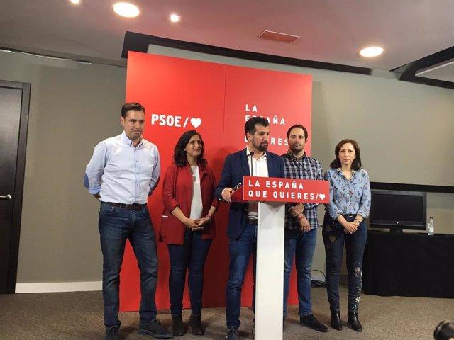 """28A.- Tudanca: """"Han Sido Tiempos Muy Duros Para El PSOE Pero Ha Demostrado Que Es Invencible"""""""
