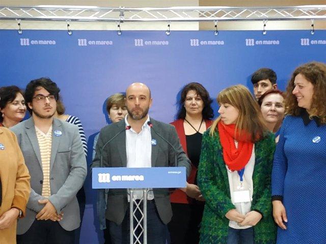 """28A.- AV.- Villares, """"alegre"""" por que las derechas """"no sumen"""": """"El miedo hizo que se concentrase el voto en el PSOE"""""""