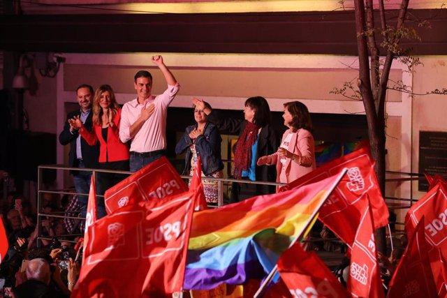 28A.- El PSOE se impone en siete de las grandes ciudades españolas y PNV logra la octava