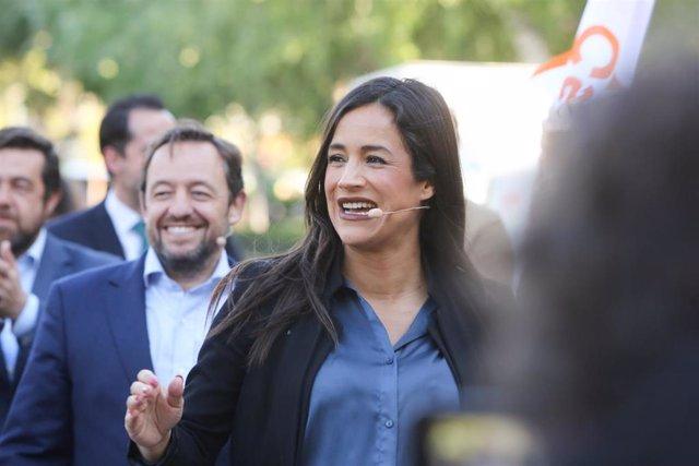 Cierre de la campaña de Ciudadanos en el Parque de la Vaguada (Madrid)