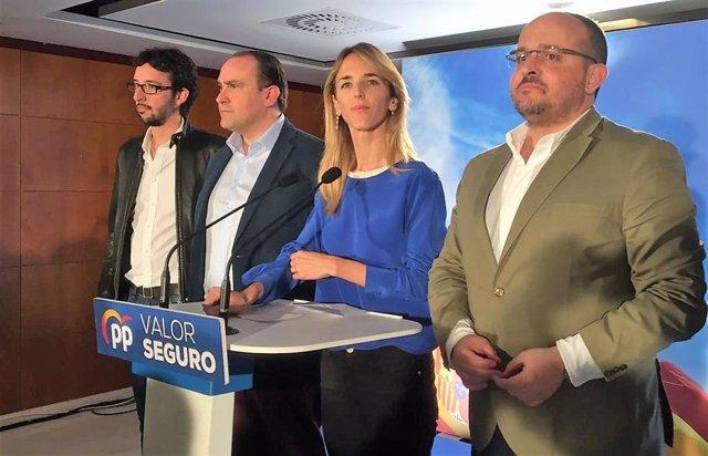 """28A.- Álvarez de Toledo (PP) admite el """"pésimo resultado"""" pero trabajará por la reagrupación de los constitucionalistas"""