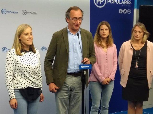 """28.- Alonso Dice Que El Resultado Del PP Ha Sido """"Malo Y Cree Necesario"""" Hacer Una Reflexión"""