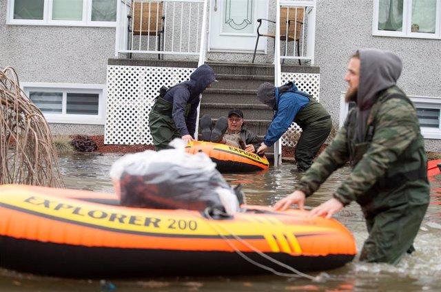 Canadá.- Evacuadas 7.700 personas por las inundaciones en Canadá