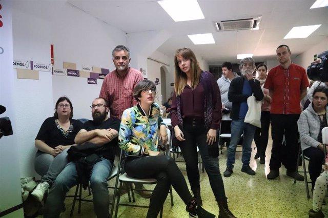 """28A.- Violeta Barba (Podemos) Destaca Que España Elige """"Políticas Progresistas"""""""