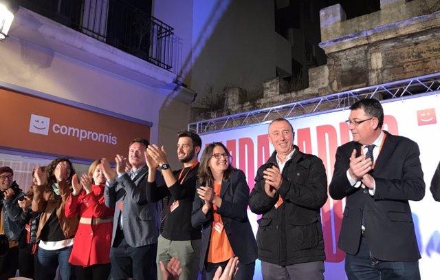 "28A-A.- AV.- Oltra: ""La Única Suma Posible Es Un Botànic II"" Aunque Carga Contra El ""Experimento"" De Juntar Elecciones"