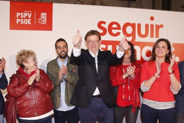 28A-A.- El PSPV Gana En Alicante Y Castelló, Mientras Que En València Compromís Es La Fuerza Más Votada