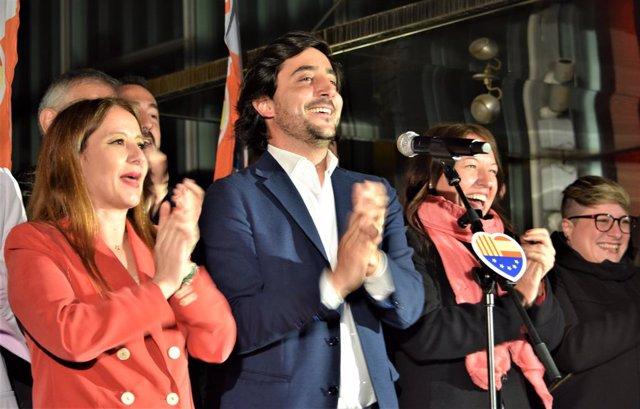 """28A.- Cs A Catalunya Destaca Que El Partit Segueix Creixent """"Malgrat Haver-hi Noves Forces"""""""