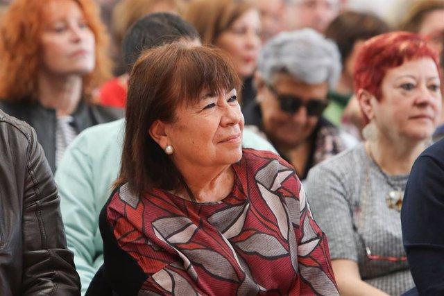 Acte del PSOE a Arganda del Rei (Madrid) amb la participació de la vicepresidenta del Govern, Carmen Calvo