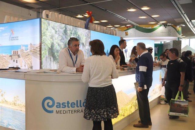 El stand de la Comunidad Valenciana en ARATUR 2018.