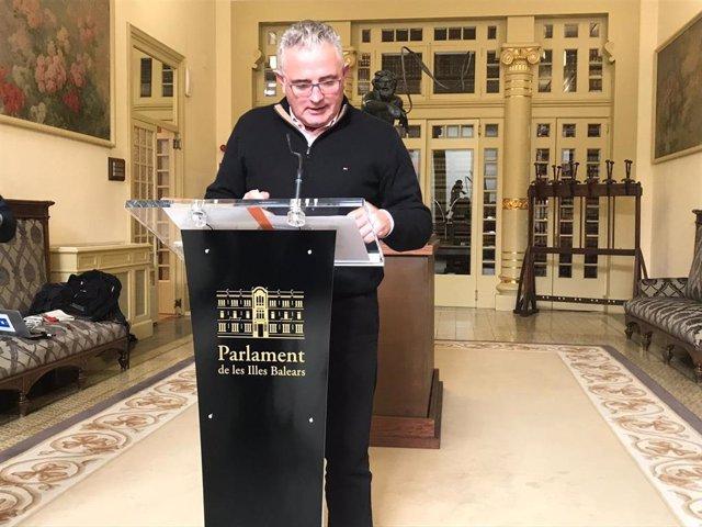 El portavoz de El Pi, Jaume Font,