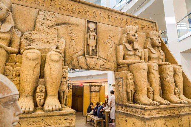 COMUNICADO: El antiguo Egipto llega a Vallsur para descubrir los secretos de los faraones