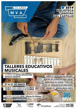 Málaga.- La biblioteca Cánovas del Castillo de la Diputación programa varios talleres educativos durante el mes de mayo