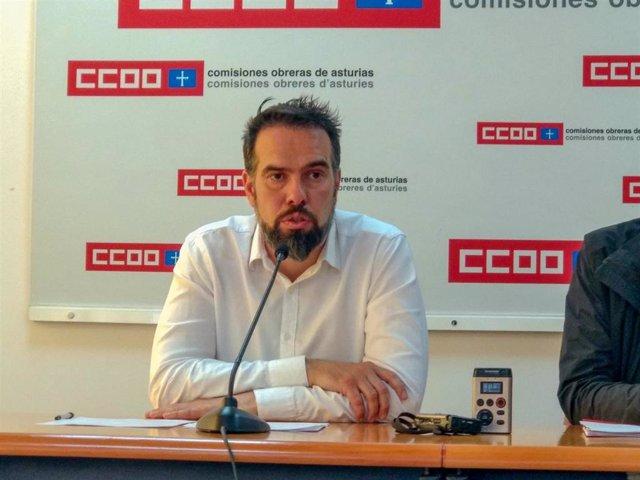 """EPA.- Zapico (CCOO) denuncia la """"situación de emergencia"""" que vive Asturias por el paro"""