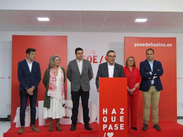 """Huelva.- 28A.- Caraballo: """"Ha ganado la sensatez y la moderación y ahora hay que seguir trabajando en las municipales"""""""