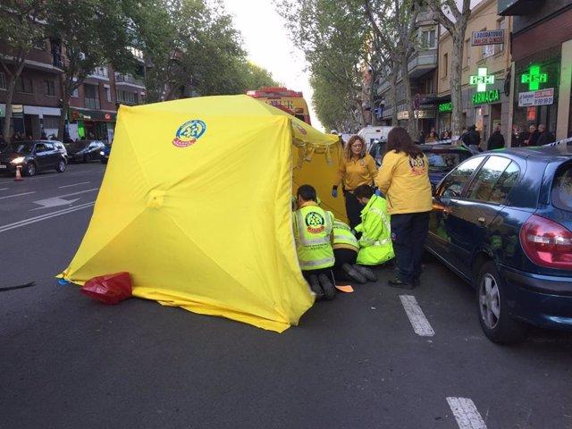 Sucesos.- Muere un hombre de 62 años al ser atropellado por un turismo en Ciudad Lineal