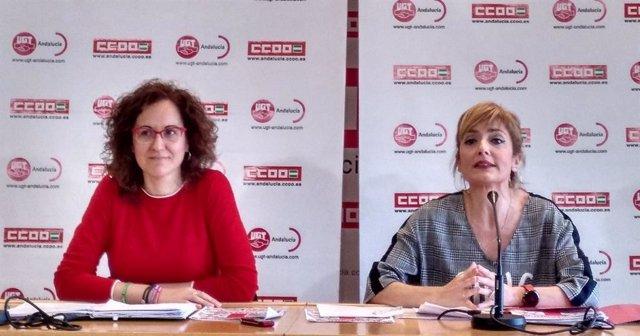"""28A.- CCOO-A Y UGT-A Vinculan El Resultado Del PP A Los """"100 Días De Fracaso"""" De La Nueva Junta Y Sus """"Imposiciones"""""""