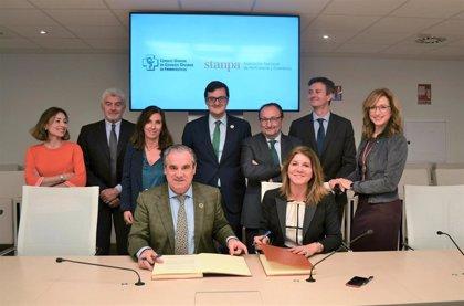 Stanpa y el Consejo General de Farmacéuticos han suscrito un convenio de colaboración para la formación en dermofarmacia