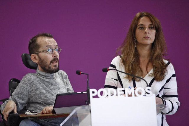"""Podemos se niega a comentar las """"tonterías"""" de Vox pidiendo su ilegalización: """"Lo hacen para provocar"""""""