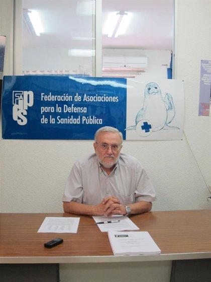 """Defensa de Sanidad Pública pide al nuevo Gobierno eliminar los copagos y una financiación """"suficiente y finalista"""""""