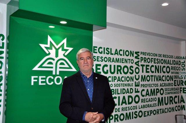 Santiago Martínez, en las instalaciones