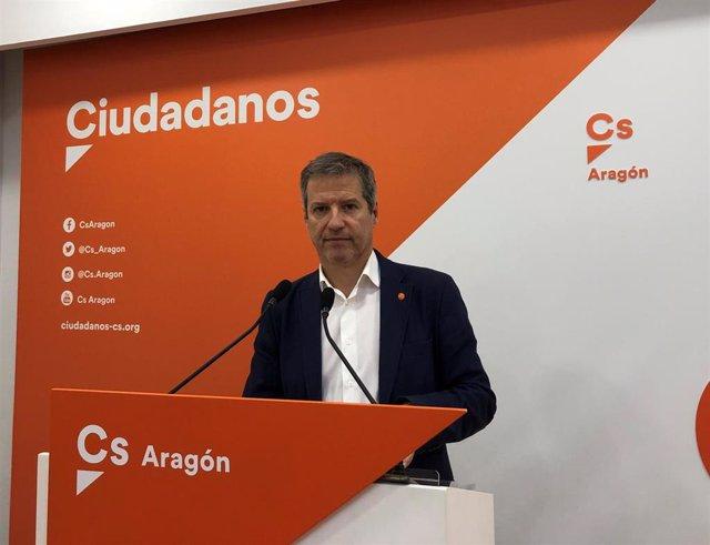 """28A.- Cs Aragón Desea Ser Un """"Gran Cortafuegos Del Sanchismo"""" Y Se Postula Como """"Única Alternativa"""" Para Ganar Al PSOE"""