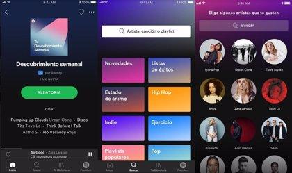 Spotify reduce un 16% sus pérdidas en el primer trimestre, hasta 142 millones