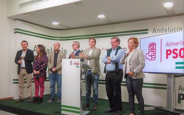 """Almería.-28A.-PSOE afirma que los resultados le dan """"mucha energía"""" para las municipales ante el """"reto"""" de la Diputación"""