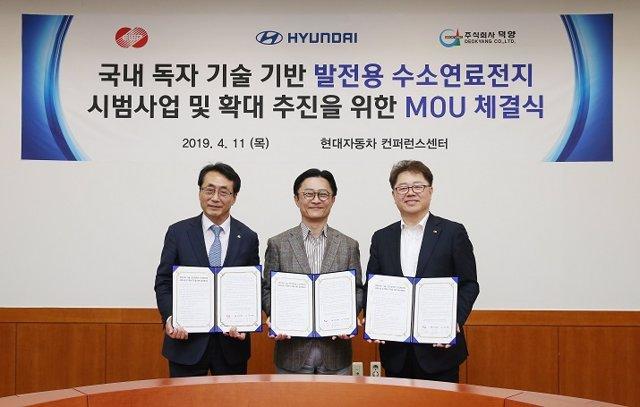 Economía/Motor.- Hyundai Motor anuncia un proyecto piloto para generar electricidad a partid de hidrógeno