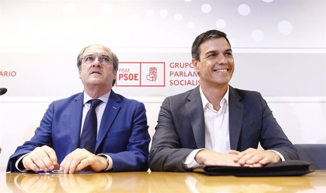 Pedro Sánchez y Ángel Gabilondo