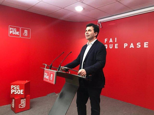 """28A.- Gonzalo Caballero Subraya Que El PSOE Puede Gobernar """"Con La Izquierda"""" Y Poner A Ciudadanos """"En La Oposición"""""""