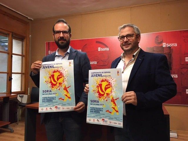 Soria espera a los 400 participantes del Campeonato de España Juvenil de voleibol, que comienza el 1 de mayo