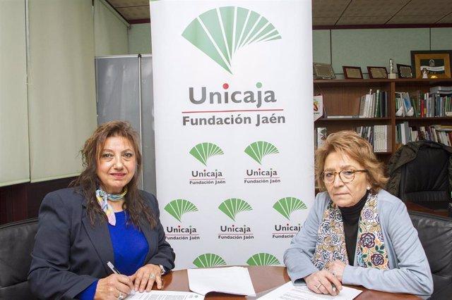 Jaén.- Unicaja.- Renovado el acuerdo con la Asociación Sinando Kalí para favorecer la integración de la comunidad gitana