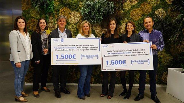 [Grupoeconomiacat] Np Los Empleados De Roche España Recaudan Fondos Para Las Fun