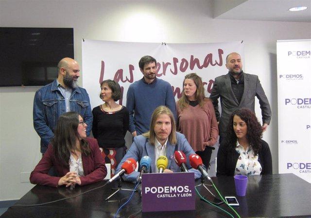 26M.- Fernández (Podemos) Señala Al PSOE Como Interlocutor Para El Cambio Y Pide Que Aclare Si Pactaría Con Cs