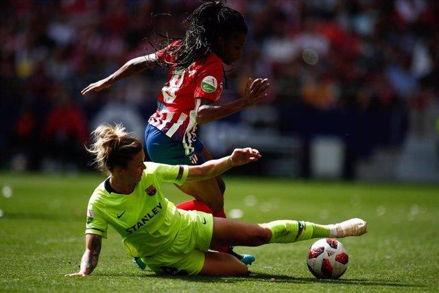 Soccer: Liga Iberdrola - Atletico de Madrid v FC Barcelona
