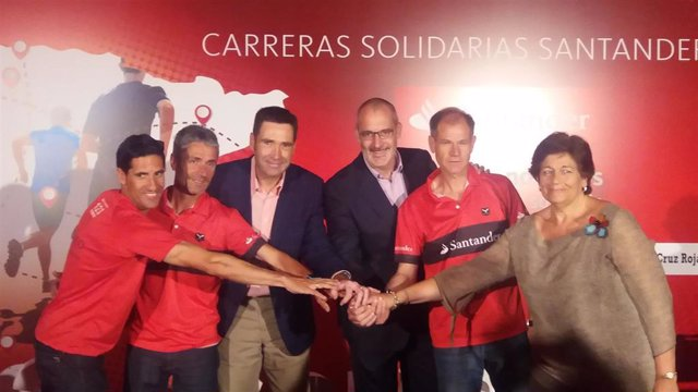 Abel Antón Martín Fiz Circuito de Carreras Solidarias Santander #123aCorrer