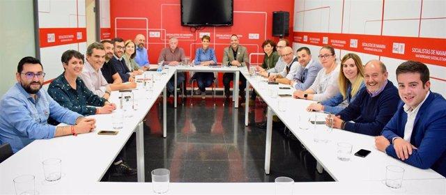 """28A.- Chivite Dice Que El Resultado Electoral """"Demuestra Que Navarra Es Progresista"""""""