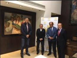 Caja Rural de Extremadura renueva su convenio con la Federación Extremeña de Baloncesto