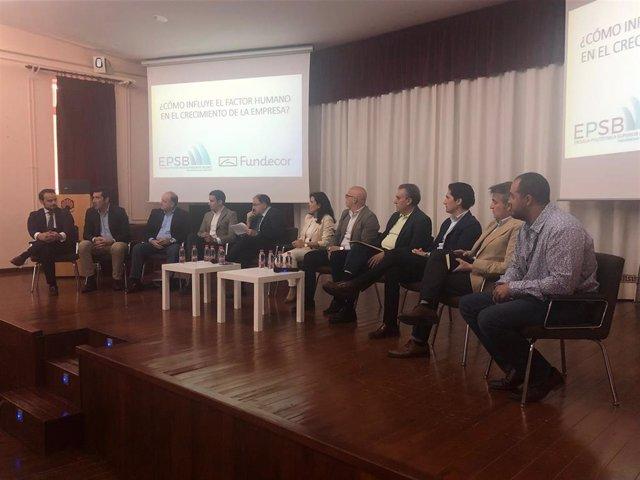 Córdoba.- Alumnos de la Escuela Politécnica de Belmez reciben una formación sobre emprendimiento y salidas profesionales