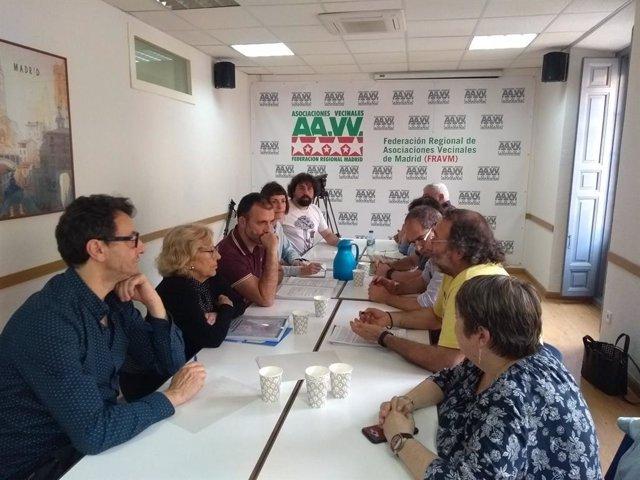 FRAVM pide a Carmena suspender Madrid Nuevo Norte y el Sureste y una zona de protección frente a locales de juego