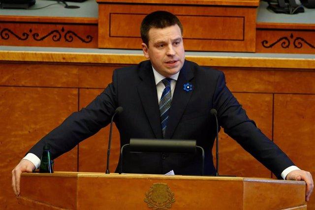 Estonia.- El Parlamento estonio avala al centrista Juri Ratas como primer ministro