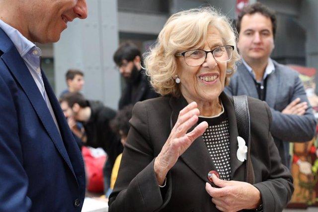 """Carmena contesta a Cs y PP que """"lo normal es que las multas de Madrid Central lleguen antes de las elecciones"""""""