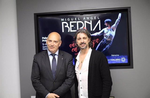 El Grupo San Valero patrocina el espectáculo de Miguel Ángel Berna '40 años en Danza'