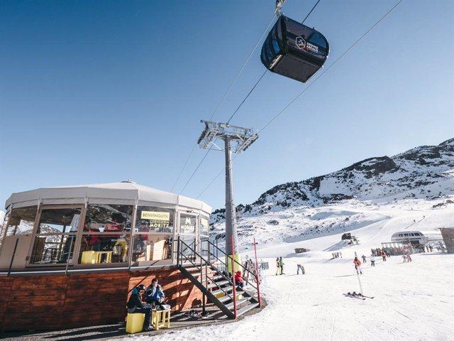 """Arcalís (Andorra) suma 199.000 dies d'esquí i aconsegueix una facturació """"rcord"""" aquest hivern"""